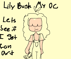 Draw your OC, see if you can get fan-art!