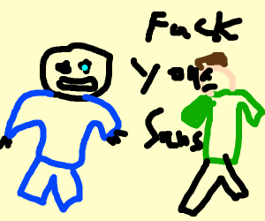 sans vs shaggy
