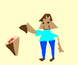 minecraft but with triangles