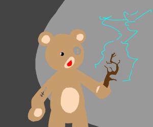 A wizard teddy bear