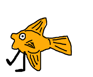 fish with legs (but hide loss)