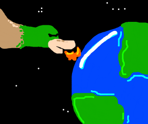 What if a duck attack The earth