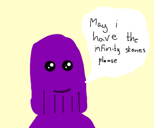 Thanos politely asks for the Infinity Stones