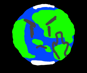 The Earth hates people