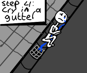 Step 3: Give up!