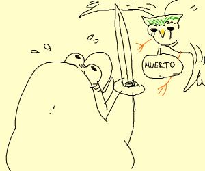Club Penguin vs Duolingo Bird