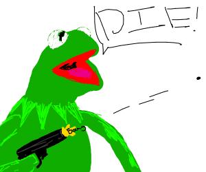 "Kermit ""kermits"" murder"
