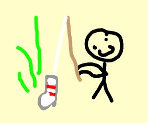 Fishing for Socks