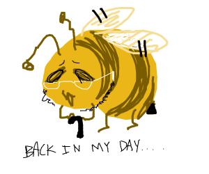 elderly bee