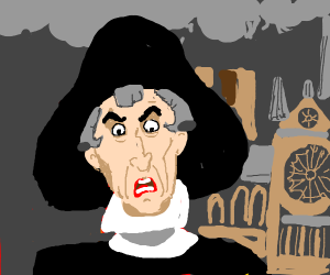Claude Frollo (from hunchback of notre dame)