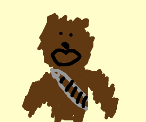 -yell in wookie-