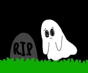 Ghost Returns to the Grave for the Year