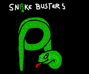 Who You Gonna Call? SnakeBusters!