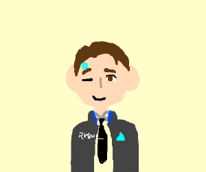 Hello. I'm the android sent by cyberlife.