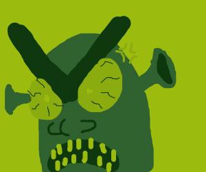 Very angry shrek