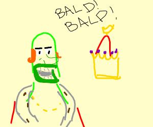 Bald King Neptune