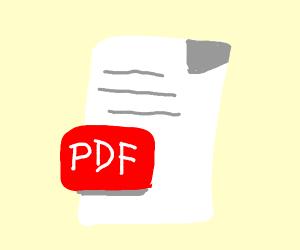 Pdf formula