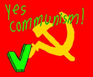 No communism