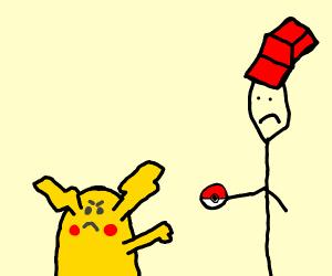 pikachu denies ash