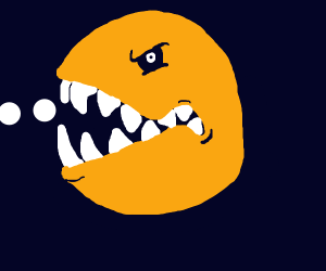 Evil Packman Bares its Teeth