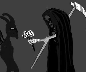 Grim reapers in love