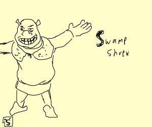 SwampShrekVsSwampMonsterEpicDuel
