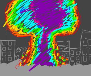 A Rainbow Nuke