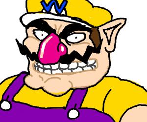 Wario from Mario