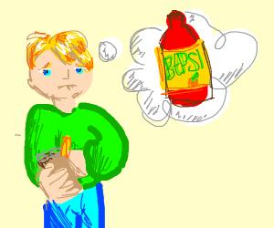Doodle boi needs a Bepsi