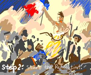 Step 1: Plan the revolution
