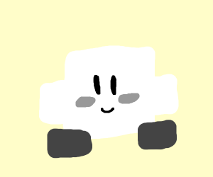 White square Kirby