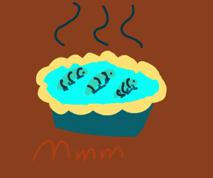 blue caterpie