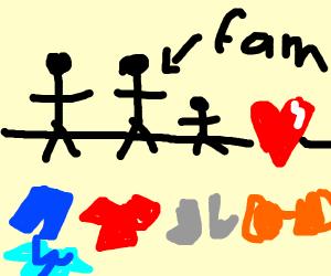 Naked Family Love