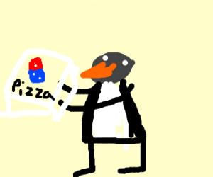 Penguin dominoes