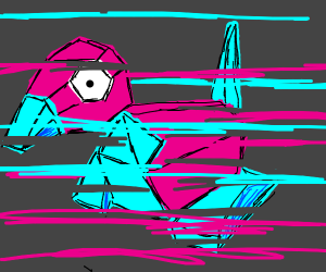 Porygon glitching out