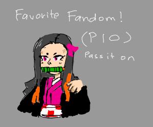 Favourite Fandom P.I.O!