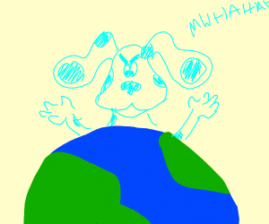 Blue from blues clues taking over the world