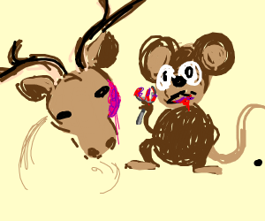 Rats Eating Moose