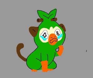 grookey is sad