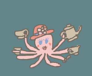 Lady Octopus being domestic