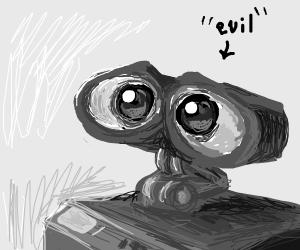 WALL-E EVIL ROBOT DUDE