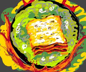 Lasagna in a Cauldron