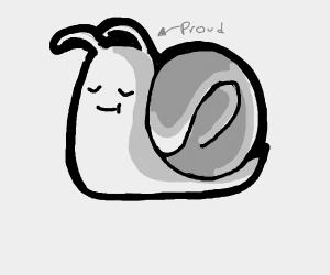 Proud snail