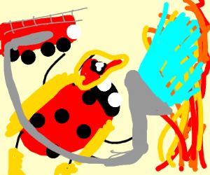 Ladybug Firefighter
