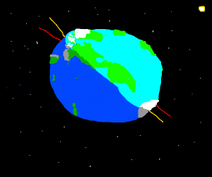 axis of the Earth