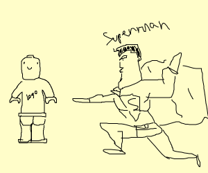 Superman vs Lego Man: Who would win?