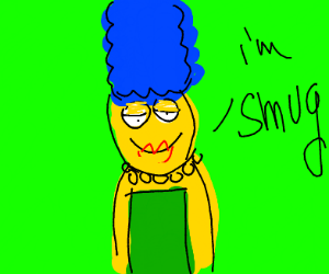 Smug Marge Simpson