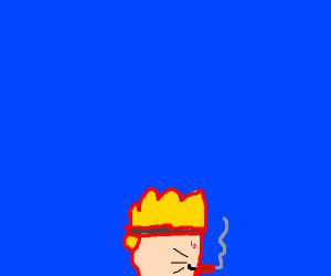 Naruto smoking crack