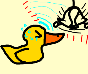duck rings bell