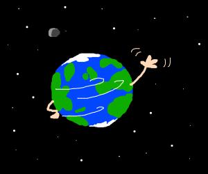 the earth says hello